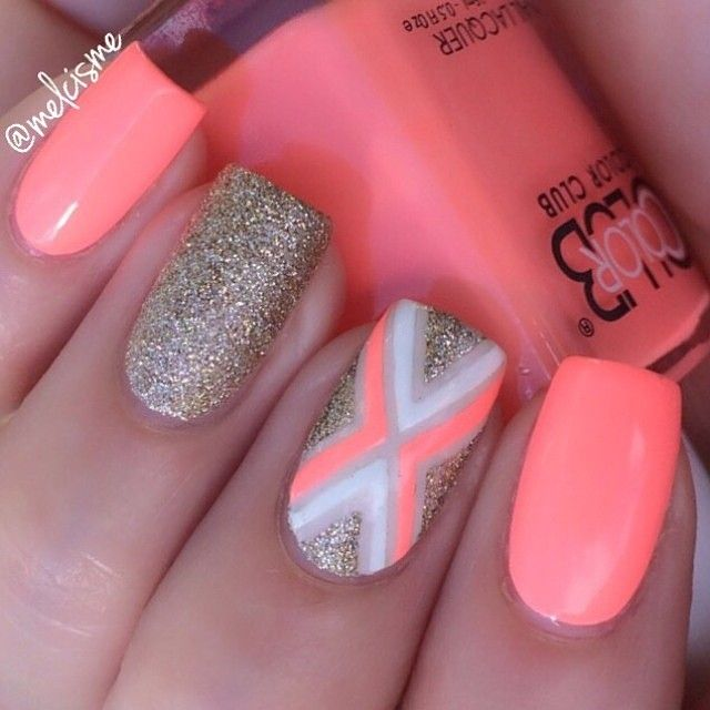 """""""X"""" marks the spot for a great mani! @melcisme #colorclub #eastaustin #HOT"""