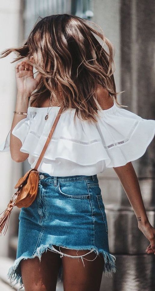 b88cf70df872 Hot Fashion Trends for Summer 2018  summer  fashion  outfits ...