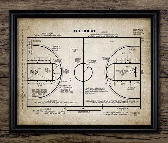 Basketball Court Patent Print - Basketball Court Design - Basketball Player Gift Idea - Single Print #1478 - INSTANT DOWNLOAD <<<<<<<<<<<<<<<<<<<<INSTANT DOWNLOAD>>>>>>>>>>>>>>>>>>>> You will receive a high quality JPG digital file of this listing image - 8 x 10 inches (300dpi) Please note that this is a high resolution image and can be easily re-sized to accommodate other sizes such as 16 x 20. The image shown above is ready to download and print straight away. No waiting for shipping! O...