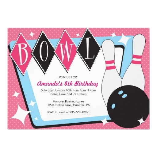 23 best Bowling images on Pinterest Birthdays, Birthday party - bowling flyer template