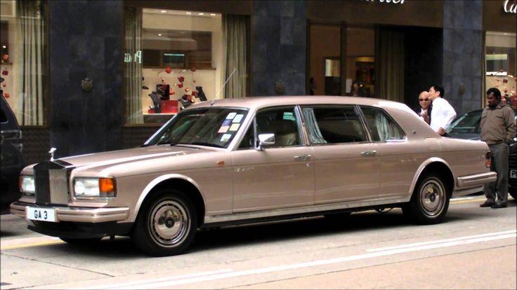 Rolls Royce Silver Spirit Limousine by Hooper