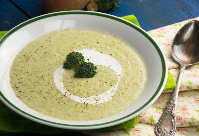 Krémes tejfölös brokkolifőzelék