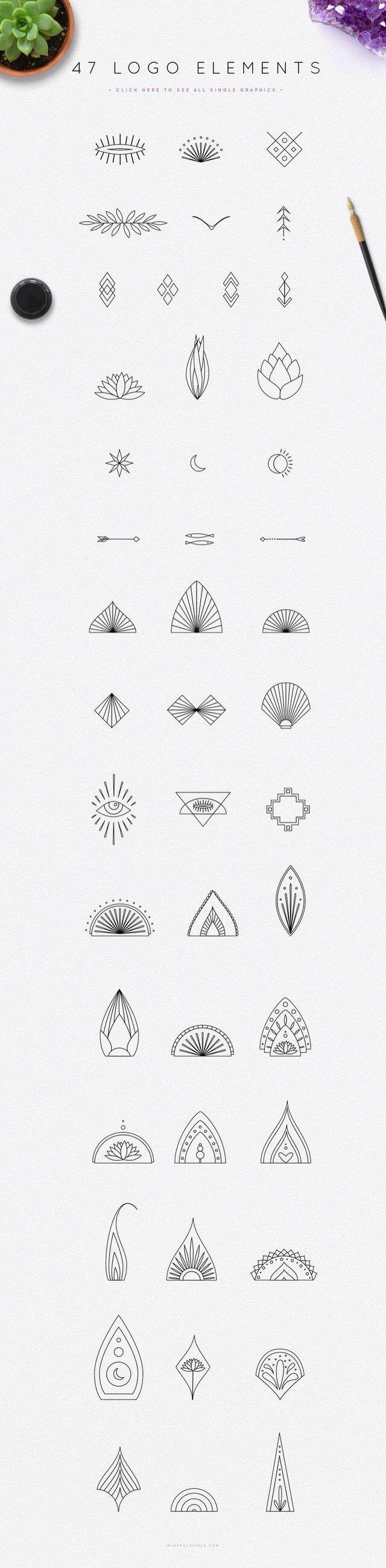 hieroglyphen en plantkunde