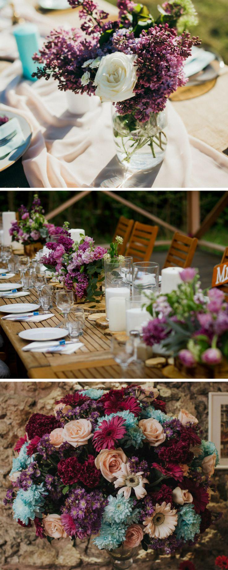 Edle Beerentöne: 45 Inspirationen für die Hochzeit