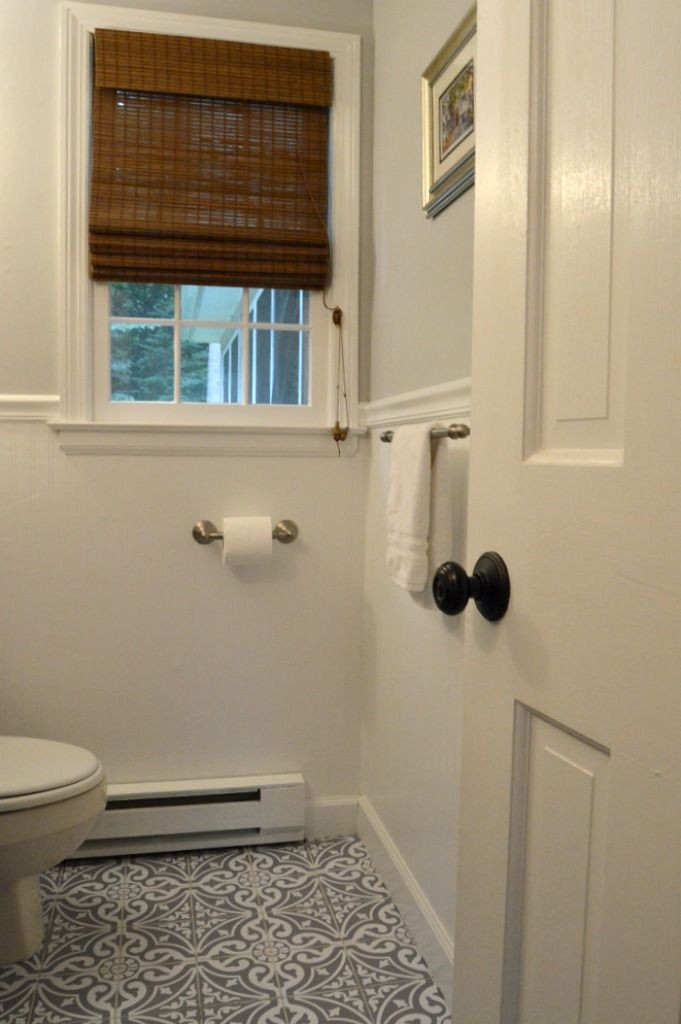 How To Install Bead Board Wallpaper In The Bathroom Beadboard Wallpaper Beadboard Beadboard Bathroom
