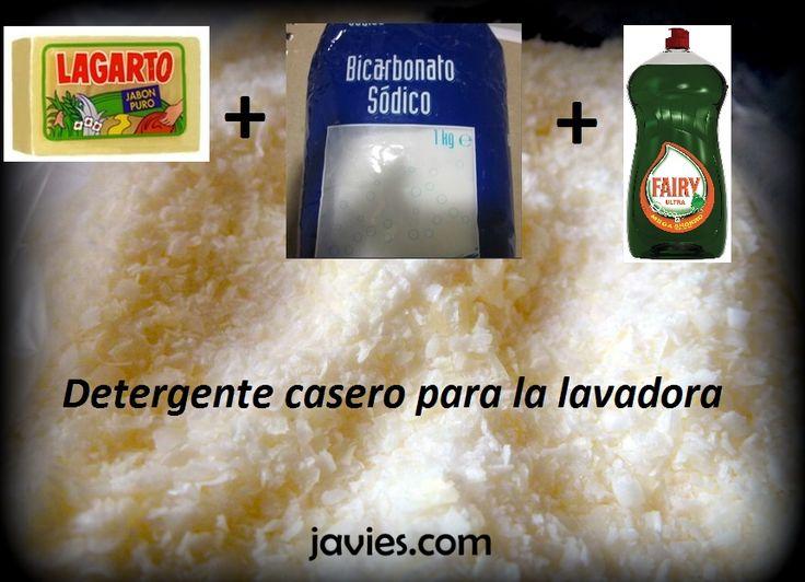 17 best images about laundry on pinterest homemade diy - Jabon casero facil ...