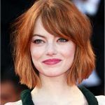 kurze haare frisuren bob rote haarfarbe Kurzhaarf…