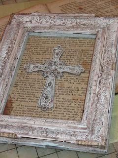 Artsy Fartsy: Crackled Frame