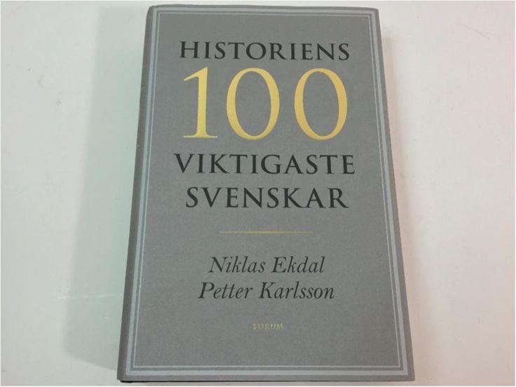 Annons på Tradera: Historiens 100 Viktigaste Svenskar, Ekdal