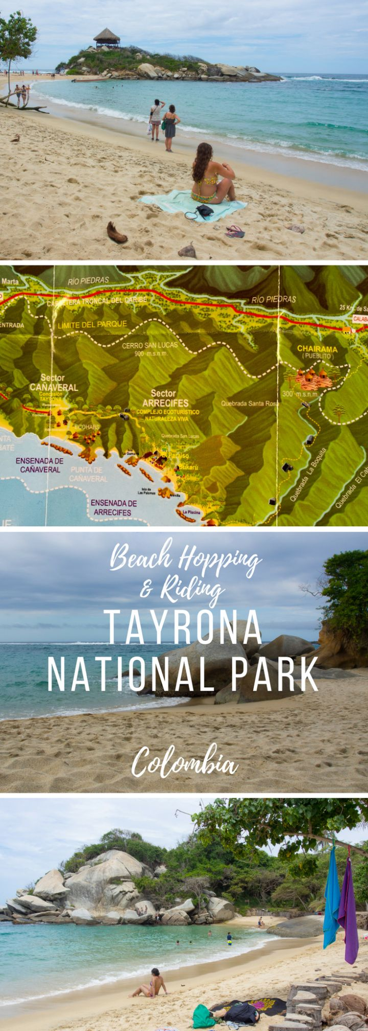 Rent a horse and gallop through the jungle from beach to another in the drastic Tayrona National Park, Colombia.