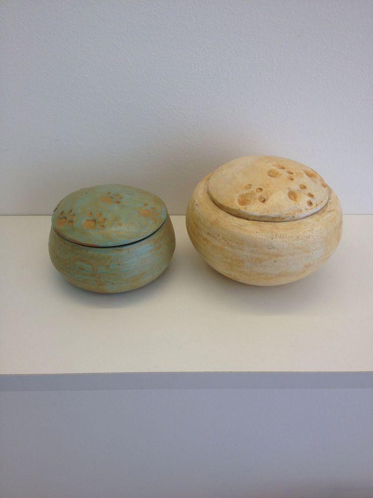 Terracotta Urns by Maurizio Dusio.