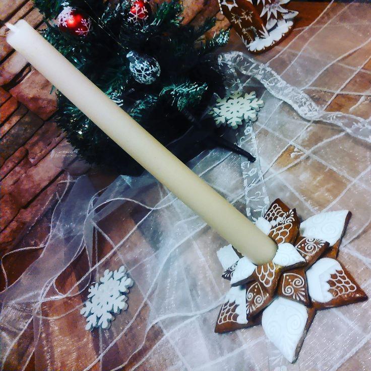 Gingerbread candelabrum