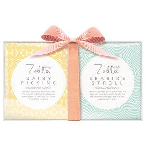 Zoella Candle Duo Daisy Picking and Seaside Stroll