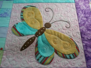 Butterfly block...are you ready for Spring?