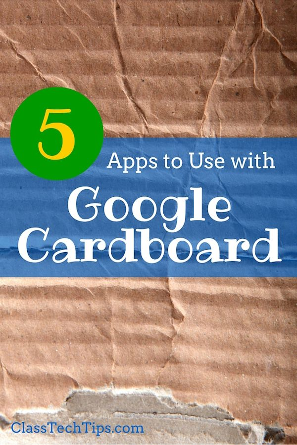 Have you tried Google Cardboard in your classroom? This super inexpensive (under $10!) and lets students explore virtual reality!