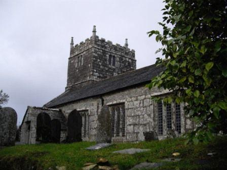 Warleggan Church, place of Devil worhship in my Dark Cornwall Novel