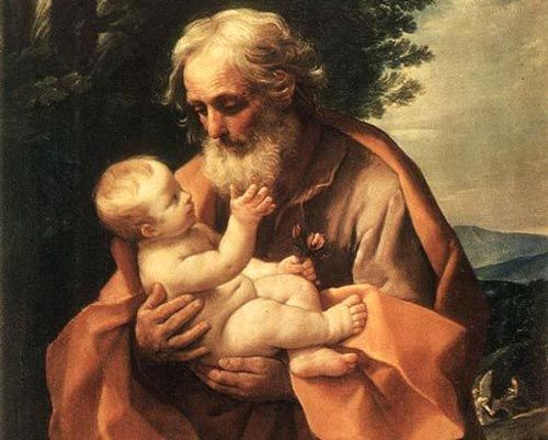 St.-Jozef, voedstervader van Jezus (Guido Reni, 1635)