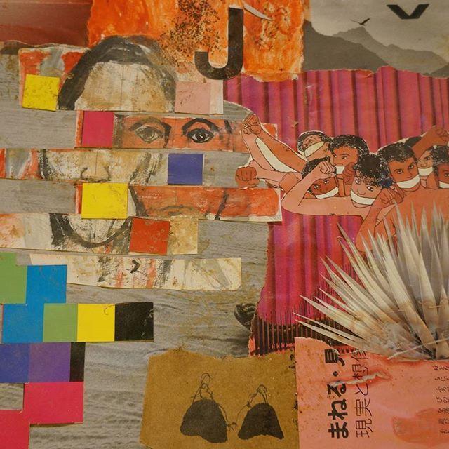 """""""As pessoas que eu não conheço"""" Detalhe 2015 #collageart #collageartwork #collageartist #arte #colagem"""
