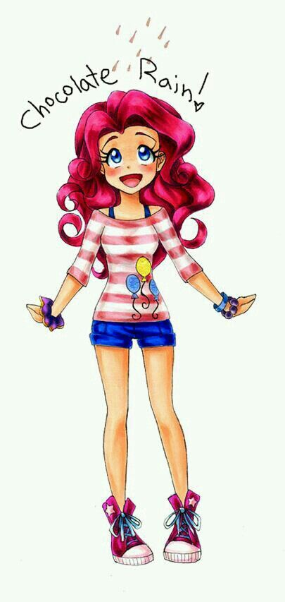 So cute! I love pinkie!