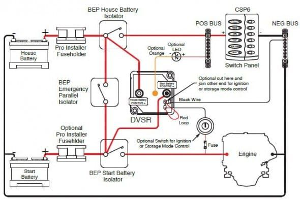Wiring Diagram For Voltage Sensitive Relay