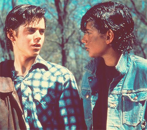106 best images about Johnny, ponyboy and Dally on ...