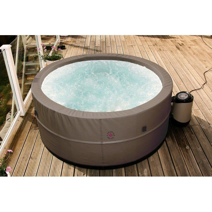 Swift Current V2 5 Person 125 Jet Plug And Play Spa Hot Tub Portable Hot Tub Hot Tub Outdoor