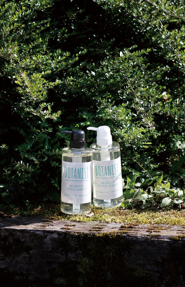 Botanist Shampoo - Mandarin & Chamomile #botanist #green #plants #earth #botanical #shampoo #bath #japanese #brand #japan #body milk #body lotion #skin care #natural #lifestyle #slow living #nature #organic #made in japan #inspiration #product #hair