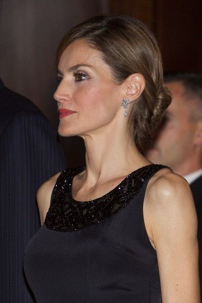 """Queen Letizia of Spain Photos Photos - Queen Letizia of Spain attends the """"XXIII Musical Week"""" closing concert at the Principe Felipe Auditorium during the """"Prince of Asturias Awards 2014"""" on October 23, 2014 in Oviedo, Spain. - Principe de Asturias Awards: Day 1"""