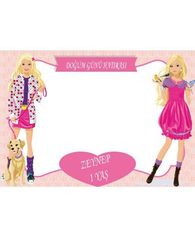 Doğum günü parti süslemeleri için Barbie Hatıra Fotoğrafı Çerçevesi ürünümüzü online olarak uygun fiyatlar ile satın alabilirsiniz