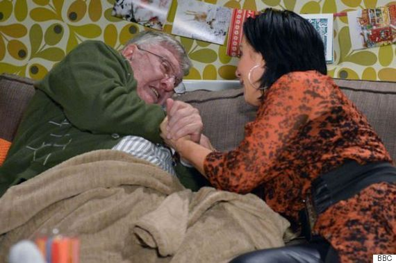 'EastEnders' Viewers Weren't Convinced By Charlie Slater's 'Laughable' Death Scene, Branding It 'Worst Fictional Heart Attack In TV History' - http://cjreview.com/eastenders-viewers-werent-convinced-by-charlie-slaters-laughable-death-scene-branding-it-worst-fictional-heart-attack-in-tv-history/