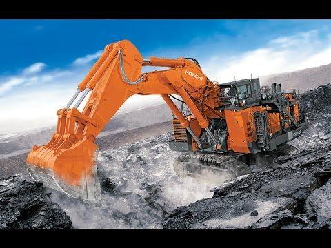 The Worlds Largest Hydraulic Excavator Hitachi EX8000