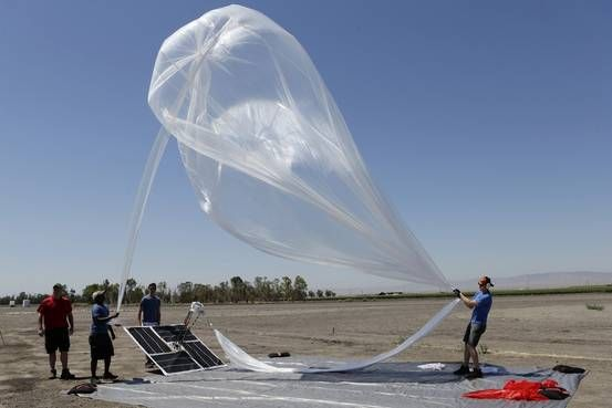 Alphabet's Project Loon to Test Internet Balloons with Indonesian Telcos Two-thirds of Indonesia, the world's fourth-most-populous country don't have Internet access http://www.wsj.com/articles/alphabets-project-loon-to-test-internet-balloons-with-indonesian-telcos-1446071606