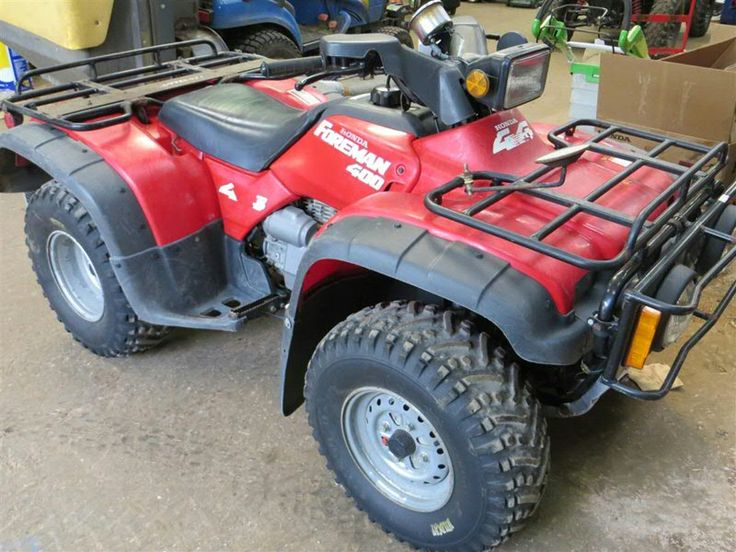 Honda Foreman 400 at C&O Tractors - second hand £1450 - Nov 2014