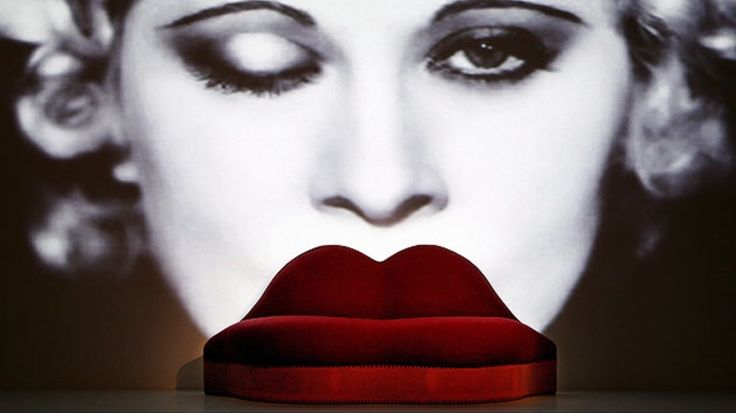 The Lips Sofa by Salvador Dali & Edward James