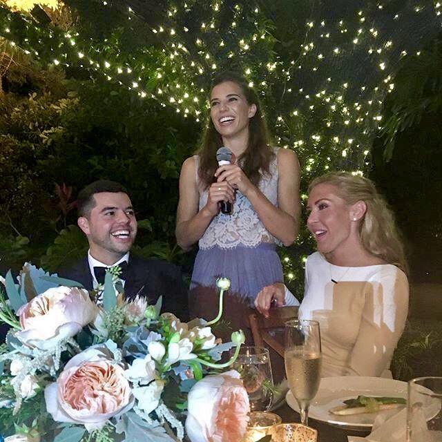 Long wedding,  Tobin and Jose Heath Batista pays Allie