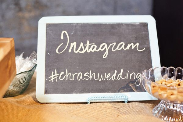 An Instagram #Hashtag is a great way to see all the shots taken that night among your guests I Derrick Tribbey Photography I  http://www.weddingwire.com/wedding-photos/real-weddings/coral-and-mint-texas-wedding/i/c2ac5858fc94953e-3671f093b81bf0b6/7bb5b67debd8893f