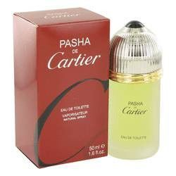 Pasha De Cartier Eau De Toilette Spray By Cartier. Pasha De Cartier Cologne by Cartier, Launched by the design house of cartier in 1992, pasha de cartier is classified as a sharp, spicy, lavender, amber fragrance. This masculine scent possesses a blend of mint, citrus, wood, musk and amber. It is recommended for daytime wear.