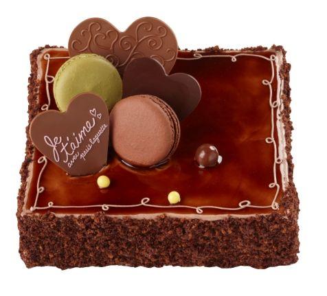 Macaron Chocolat Cake of Paris Baguette, South Korea