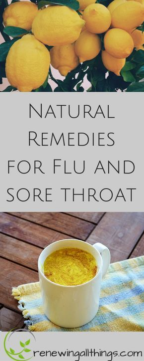 Natural Remedies for Flu -Stomach Problems