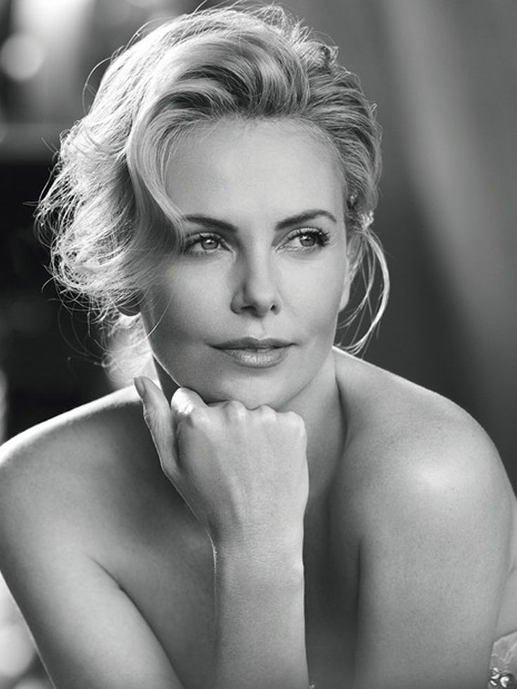 Charlize Theron by Peter Lindbergh for Dior J'Adore Eau Lumiere Fragrance 2016 Campaign