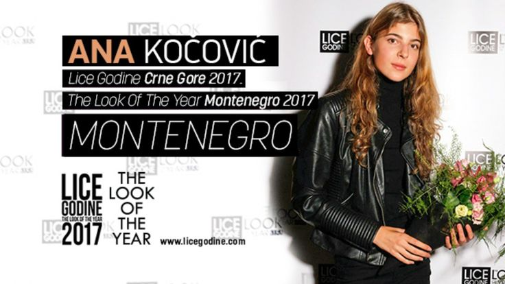 Ana Kocovic - Lice Godine Crne Gore 2017 (The Look Of The Year Montenegro 2017)