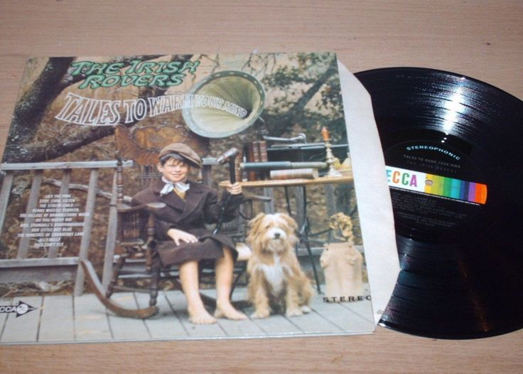 The Irish Rovers - Tales To Warm Your Mind - LP Record G+ VG+ |