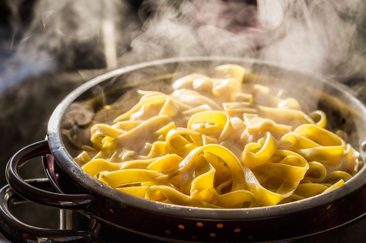 When boiling pasta, first rub oil all over the inside of the pot, so that the water won't pour over while its boiling..
