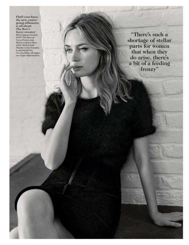 Emily Blunt – Vogue UK Magazine (November 2016)