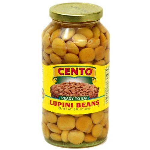 Cento - Lupini Beans, (2)- 16 oz. Jars Cento