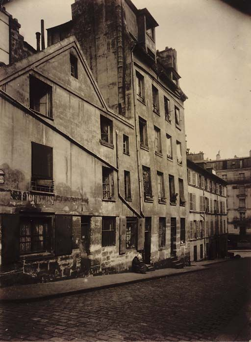 Rue Chopin, ca 1900, Eugene Atget.