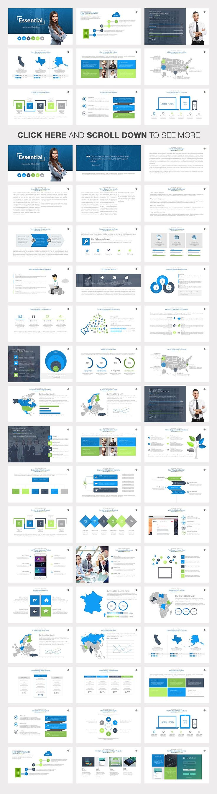 23 best business presentation templates images on pinterest essential powerpoint template alramifo Choice Image