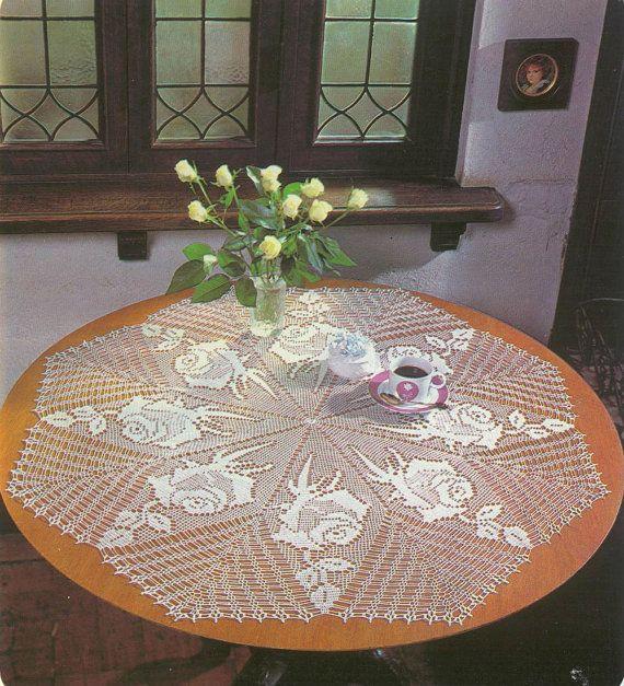 Handmade Crochet Doily Crochet Table Center by CrochetMiracles, $80.00