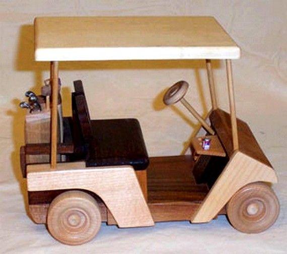 1000 images about voertuigen van hout on pinterest toys for Golf cart plans