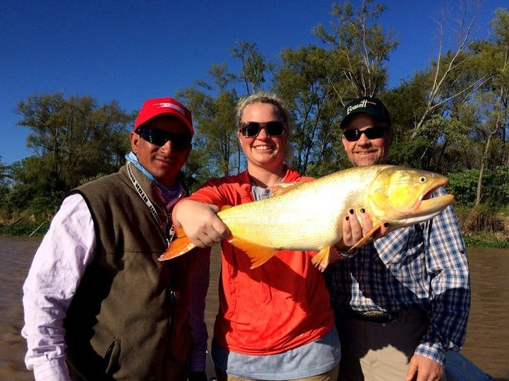 Golden Dorado Fishing in Argentina with TGB Outfitters!